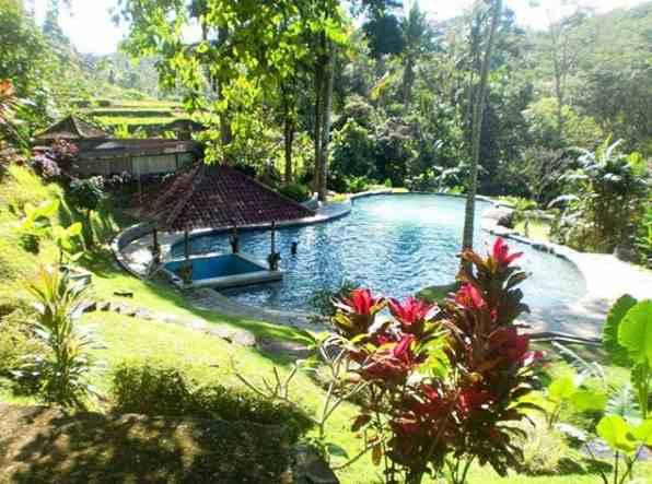 Pemandian Air Panas Penatahan ESPA Yeh Panes Tabanan Bali