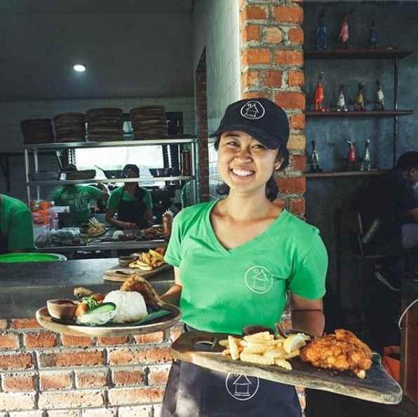 Menu Green Kubu Cafe Tegalalang Bali