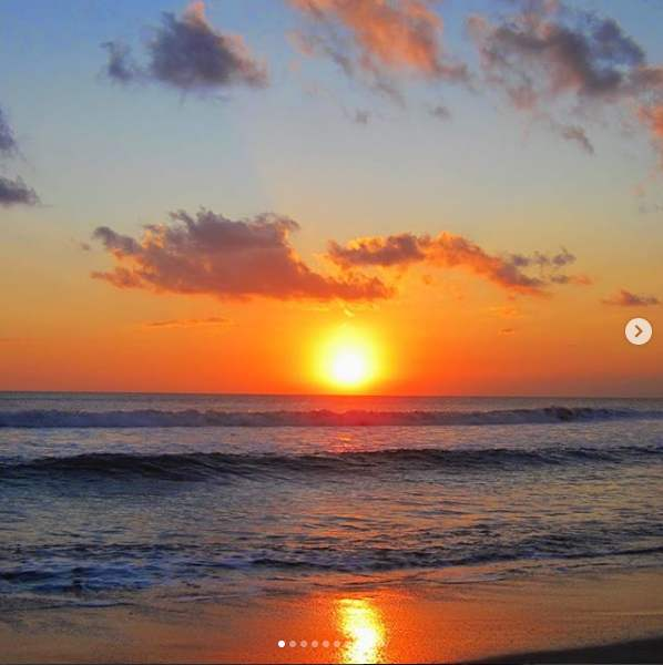 Sunset Pantai Baluk Renin Jembrana Bali