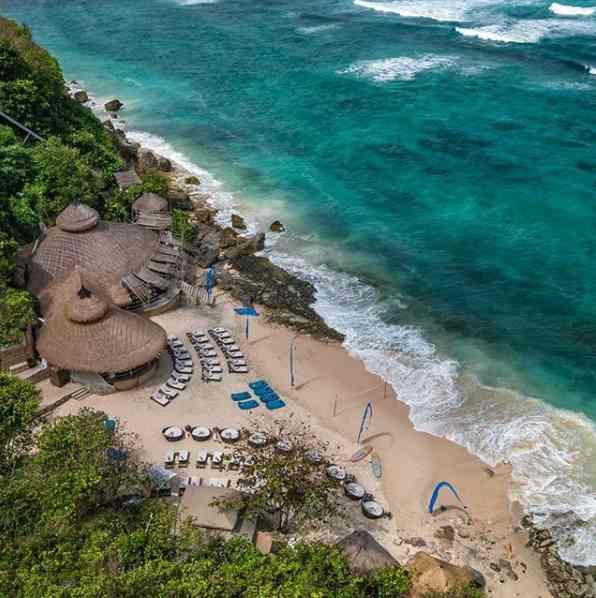Pantai Karma Kandara Private Beach Club Bali