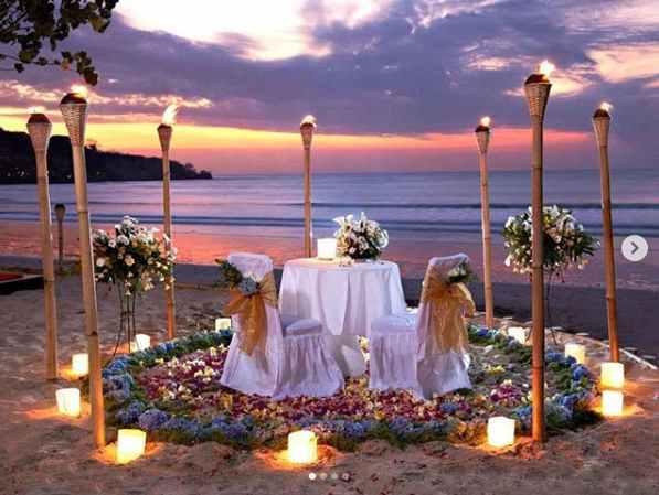 Tempat Makan Romantis di Bali