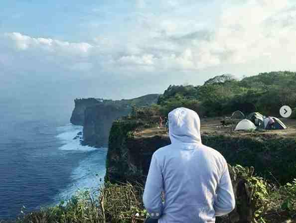 Camping di Karang Boma Bali