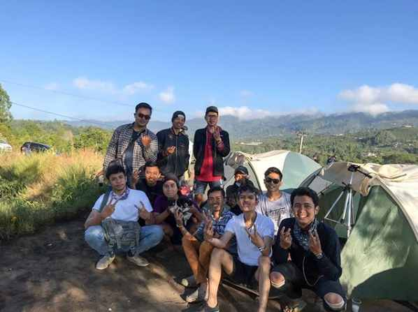 Camping di Desa Pinggan Kintamani Bali