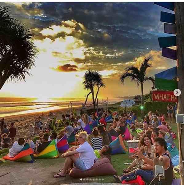 707 Beach Berm di Pantai Batu Belig Bali