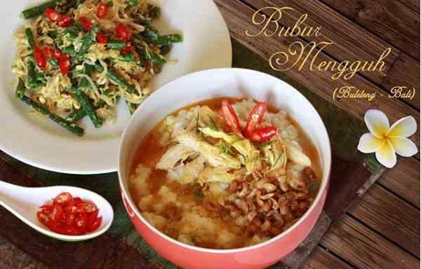 Bubur Mengguh Khas Buleleng Bali