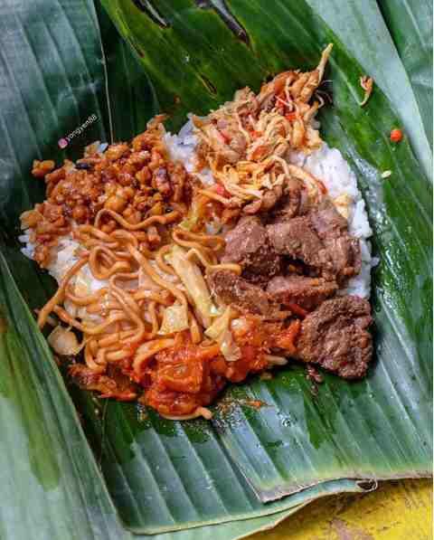 Nasi Jinggo Khas Bali