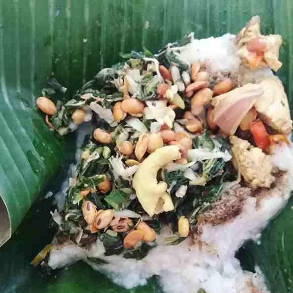 Nasi Tepeng Khas Gianyar Bali