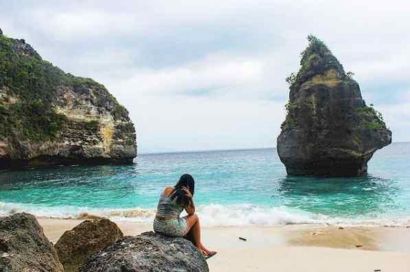Pantai Suwehan Nusa Penida Klungkung Bali
