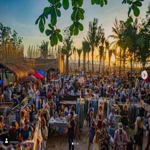 Sunday Gypsy Market La Laguna Beach Club Canggu Bali