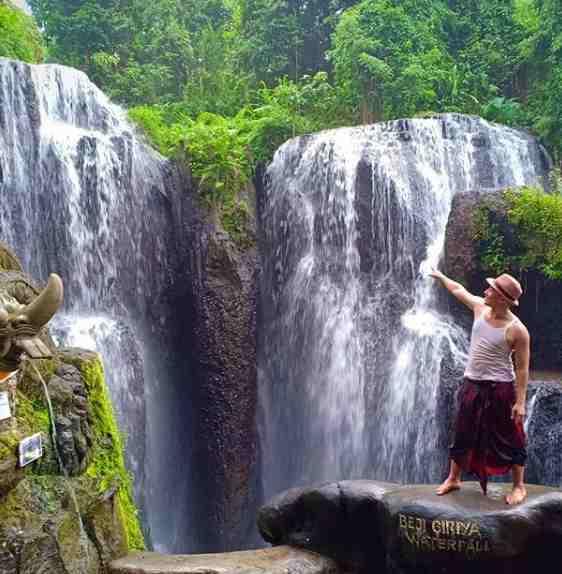 Air Terjun Beji Griya Punggul Abiansemal Badung Bali