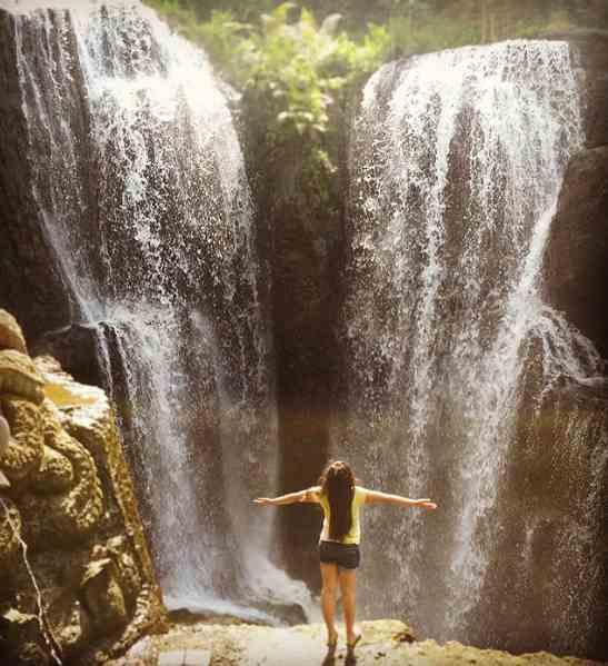 Beji Griya Waterfall Punggul Abiansemal Badung Bali