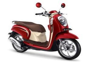 Harga Sewa Motor Honda Scoopy FI di Bali