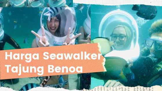 Harga Seawalker Tanjung Benoa Bali 2019