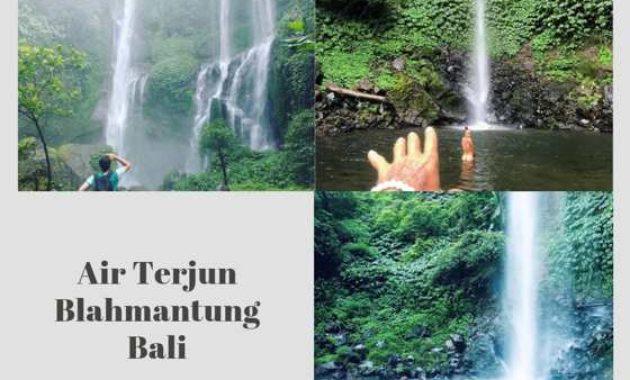 Gambar Foto Blahmantung Waterfall Bali Instagram