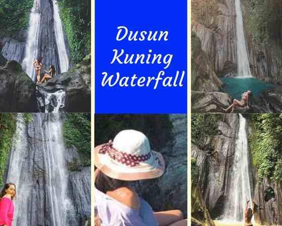 Gambar Foto Air Terjun Dusun Kuning Waterfall Bali