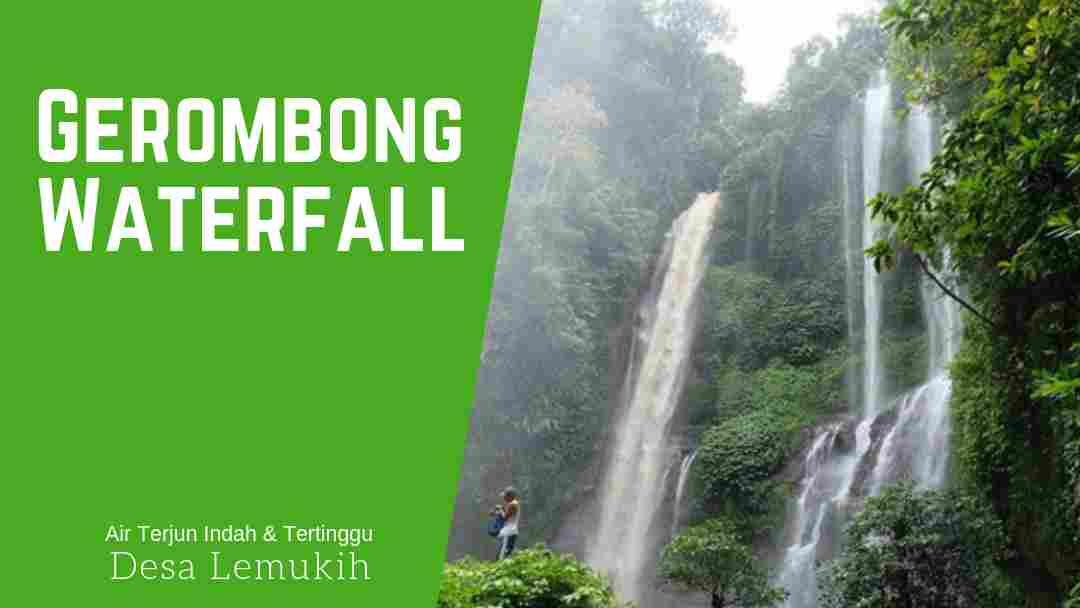 Gerombong Waterfall Lemukih Sawan Bali