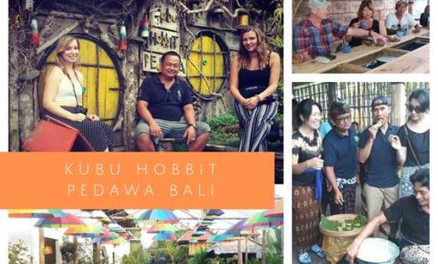 Gambar Foto Rumah Hobbit di Pedawa Buleleng Bali