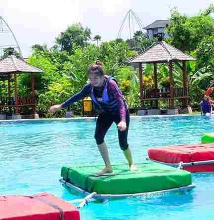 Outing di Taman Segara Madu Waterpark