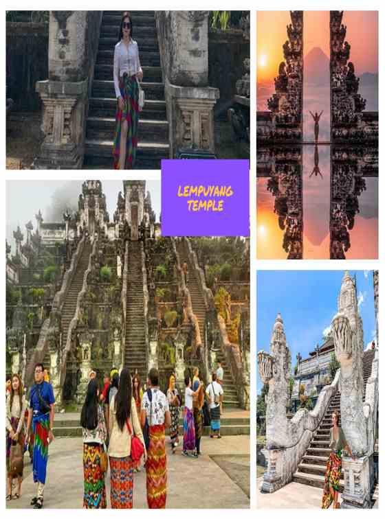 Foto Lempuyang Temple Bali