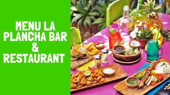Menu La Plancha Seminyak Bali Restaurant