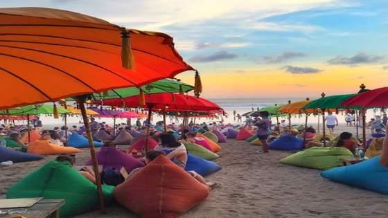 Objek wisata pantai mesari seminyak bali