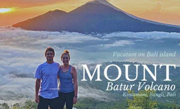 Ketinggian Gunung Batur Kintamani Bangli Bali