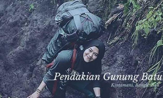 Pendakian Gunung Batur Kintamani Bangli Bali