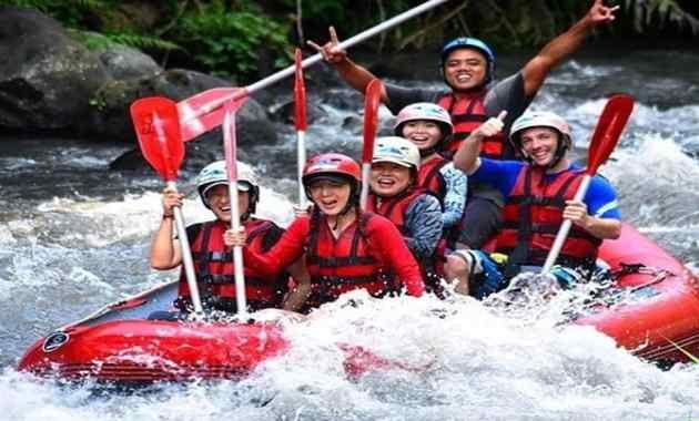 White Water Rafting Ayung Ubud Bali