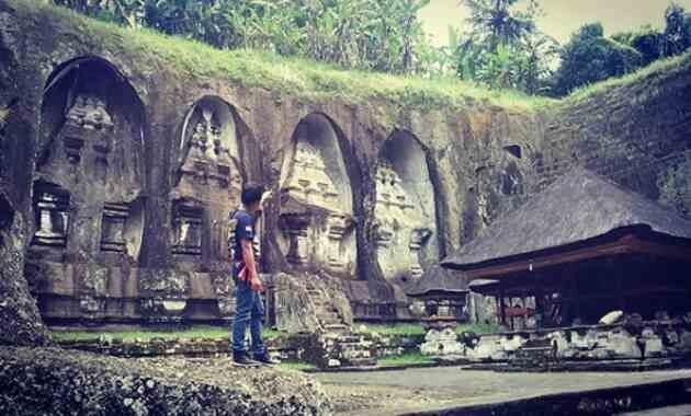 Cagar Budaya Candi Tebing Gunung Kawi Tampaksiring Gianyar Bali