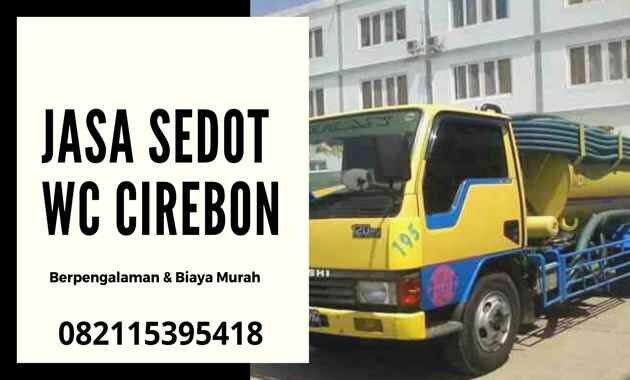 Jasa Sedot WC Cirebon Kota 24 Jam Harga _ Biaya Tukang Murah
