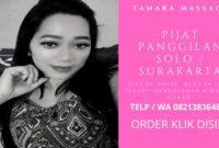 Harga Jasa Pijat Panggilan Solo Surakarta 24 jam Ke Hotel Plus Terapis Spa Massage Pria Wanita Pasutri Pengalaman