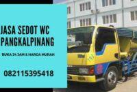 Jasa Sedot WC Murah Pangkalpinang 24 Jam Harga _ Biaya Tukang Murah