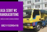 Jasa Sedot WC Murah Rangkasbitung 24 Jam Harga _ Biaya Tukang Murah
