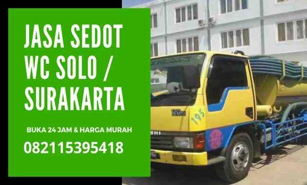 Jasa Sedot WC SOLO 24 Jam Harga _ Biaya Tukang Murah