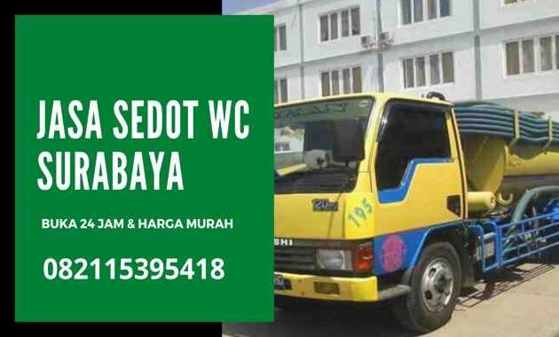 Jasa Sedot WC Surabaya 24 Jam Ongkos Tarif Harga Biaya Tukang Murah